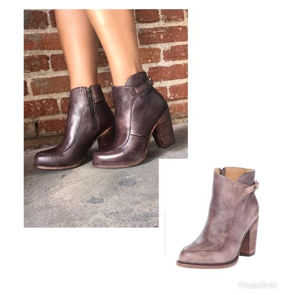 41ba4f30fc03 Bed Stu Isla chocolate driftwood bootie boots